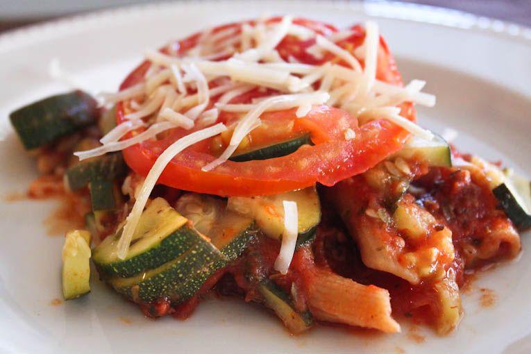Pasta Alla Formiana (or healthified baked Ziti)