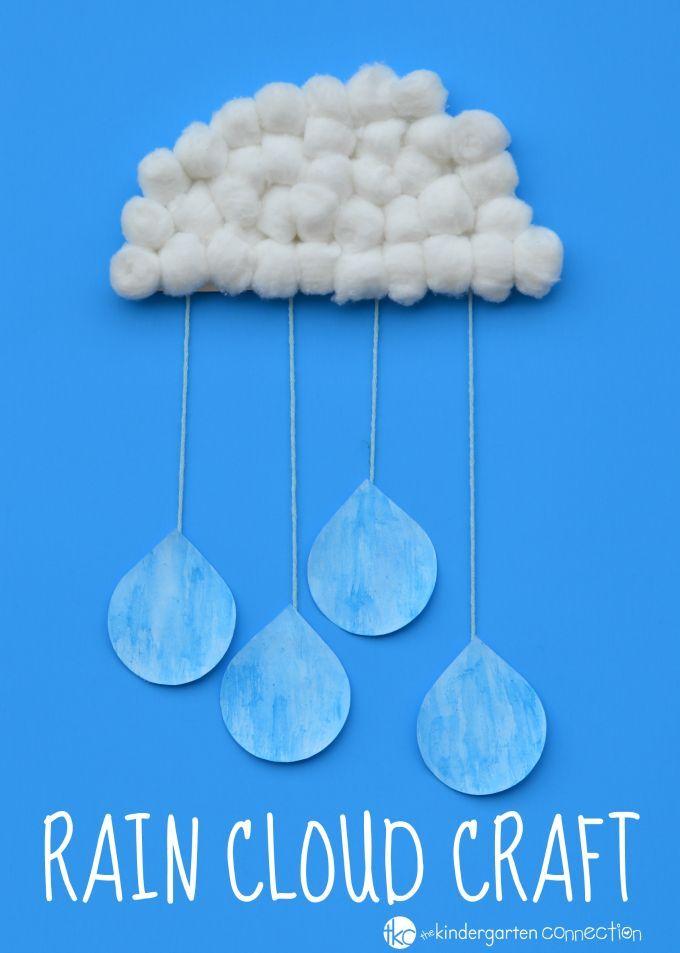 rain cloud craft for kids