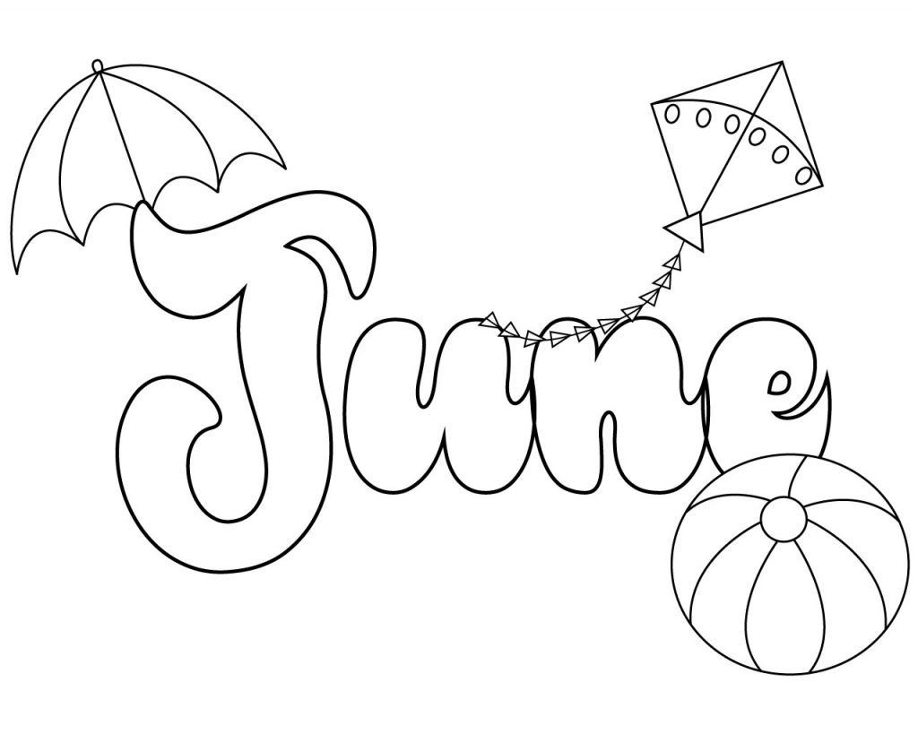 June Coloring Pages Best Coloring Pages For Kids Summer Coloring Pages Coloring Pages To Print Free Coloring Pages