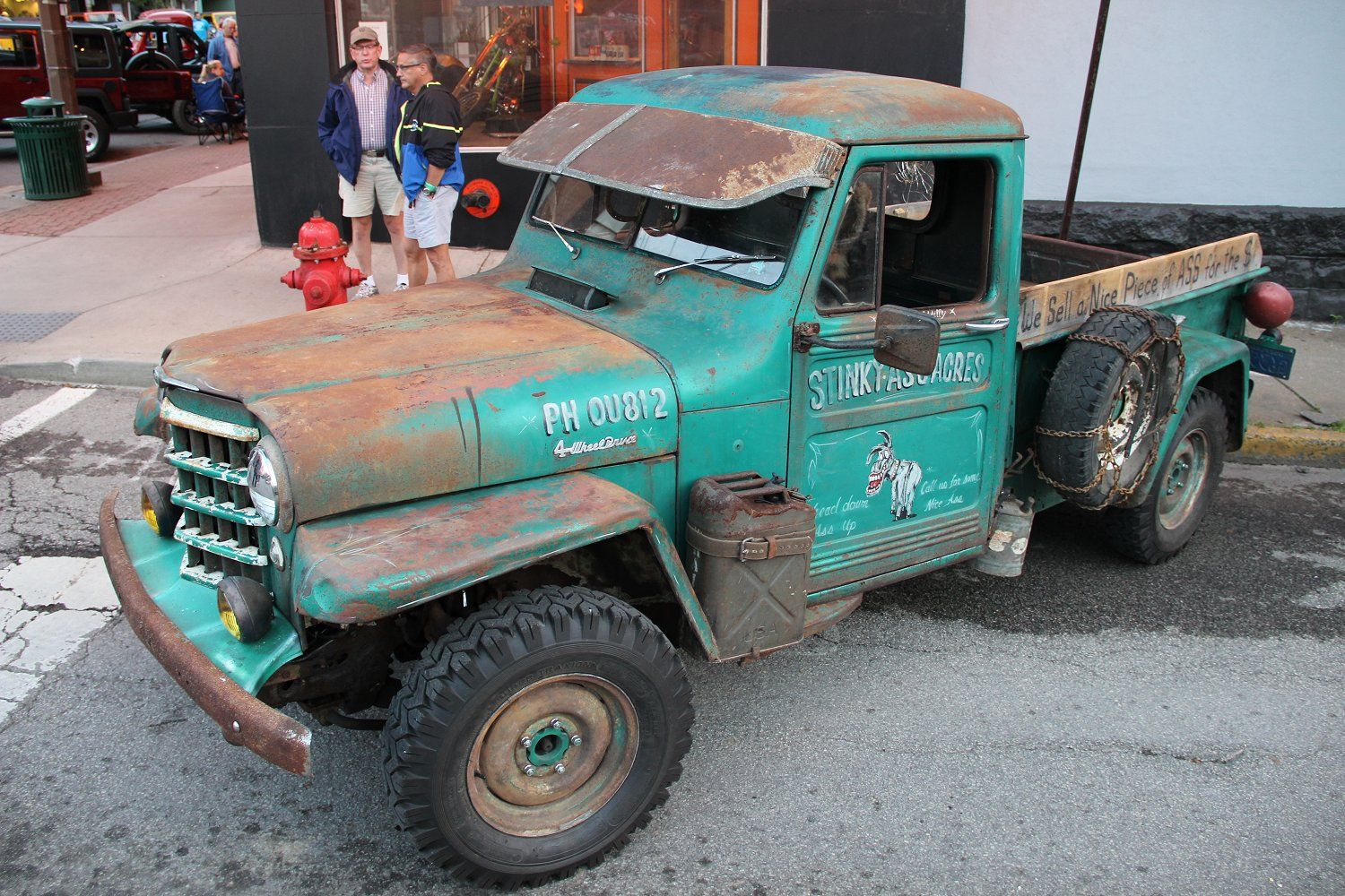 "willys pickups 1952 | 1952 Willys Jeep Truck – Dan ""Wet Ass"