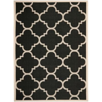 Safavieh Courtyard Black/Beige 8.9 ft. x 12 ft. Area Rug-CY6243-266-9 - The Home Depot