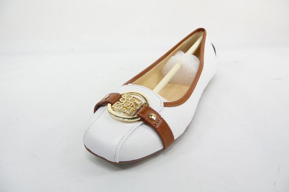 Liz Claiborne Iris  Ballet Flats Womens Shoes White  Size 7M  New Without Box #LizClaiborne #BalletFlats
