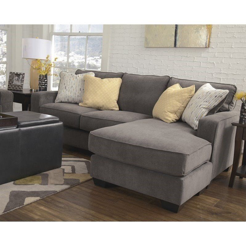 Ashley Grey Couch With Chaise, Gray Sectional Sofa Ashley Furniture