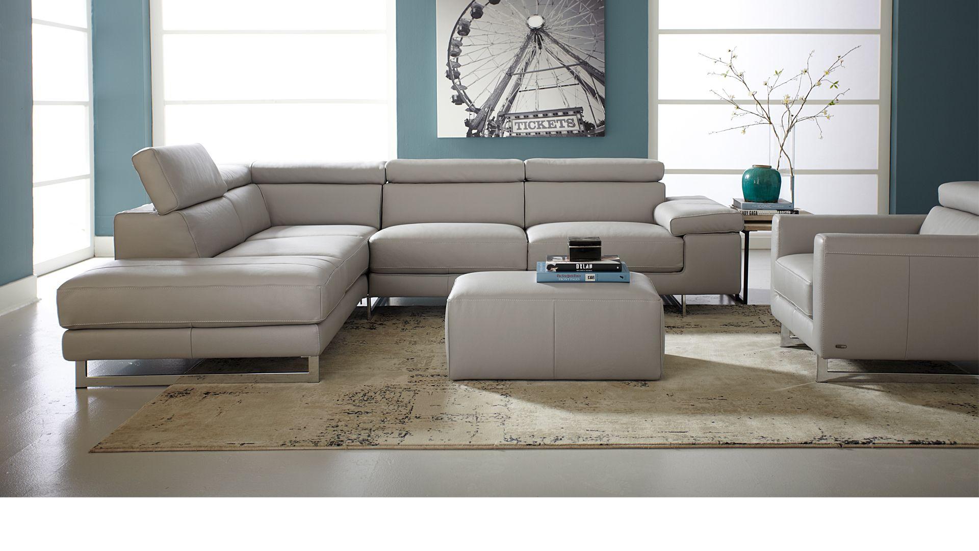 Natuzzi Editions Casavogue Modern Sofa Sectional