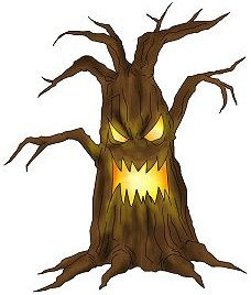 Draw a Spooky Halloween Tree | All things fall | Pinterest ...