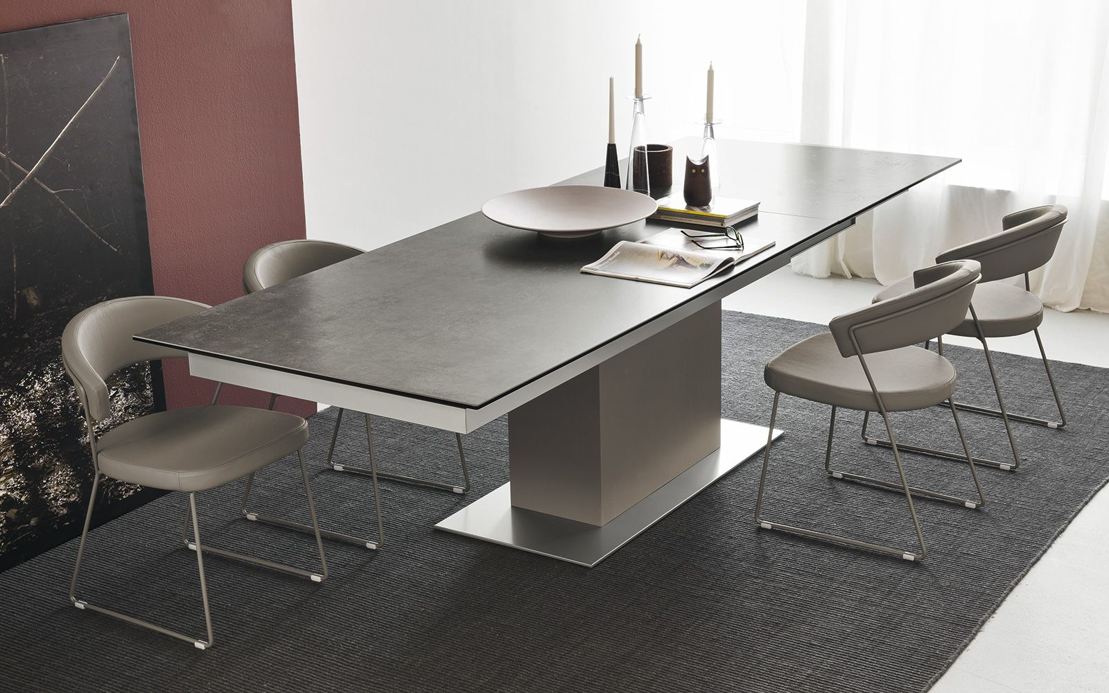 Table Super Extensible Sincro Calligaris Cs 4087 Home Pinterest # Calligaris Meuble Suspendu