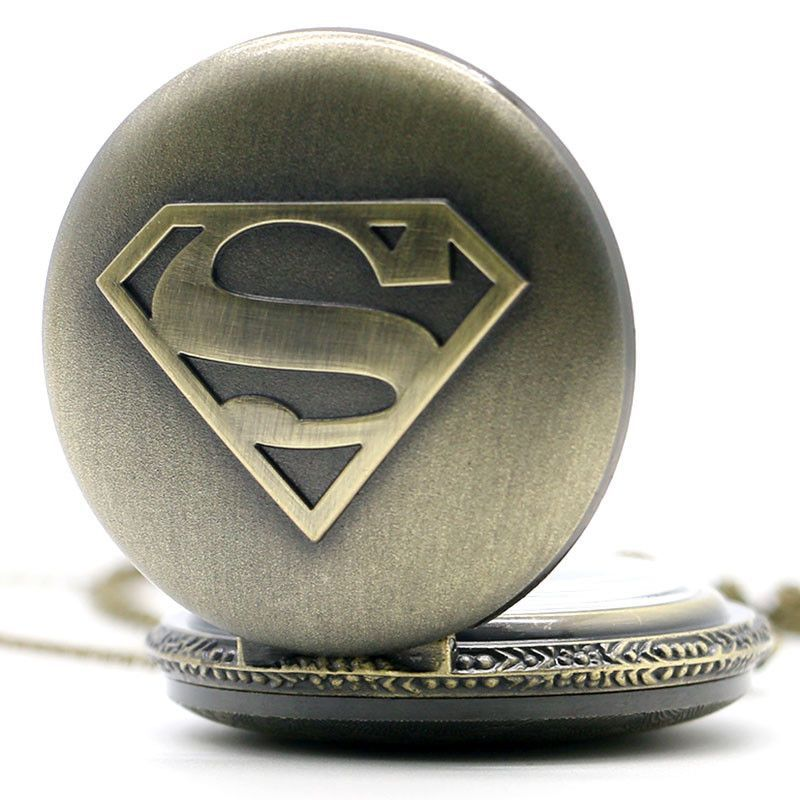 879017f8be3a Superman DC Comics - Vintage Steampunk Pocket watch NEW   Products ...
