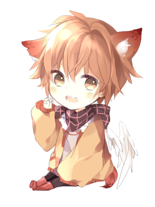 Pin By đoublexn On Anime Jibi Cute Anime Chibi Anime Fox Boy Anime