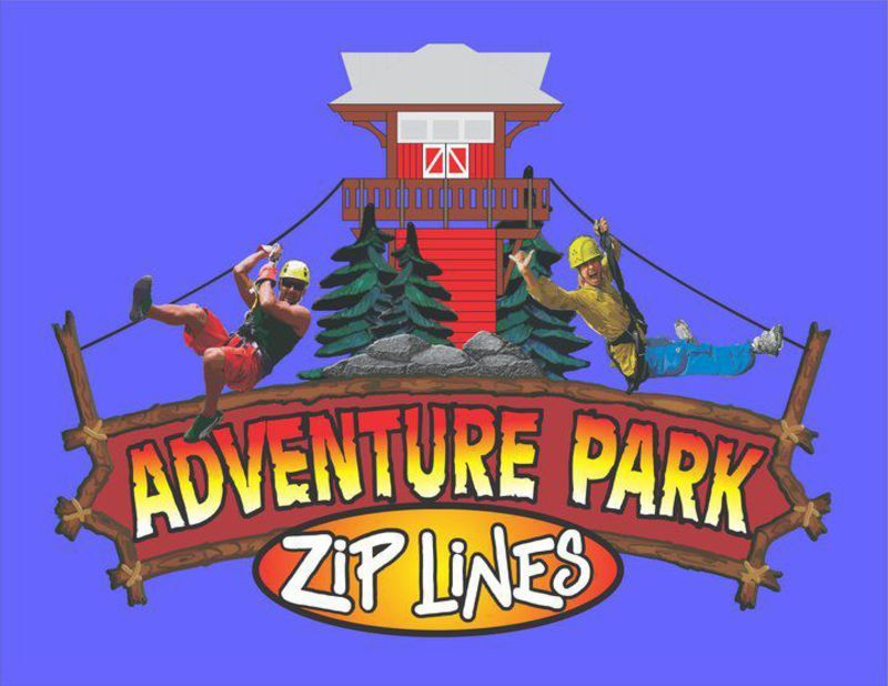 Adventure Park At Five Oaks:    The place to Zip line in Gatlinburg, Pigeon Forge and Sevierville Tennessee in the Great Smoky Mountains.