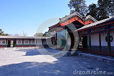 These China Ancient Buildings Filmed In Beijing Xiangshan The Building Was Built In 1664 Ancient Architecture Ancient Buildings Ancient Chinese Architecture