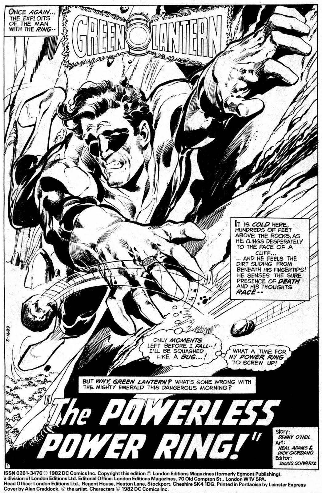 Green Lantern By Neal Adams Adam Adam Comic Book Artists Comic Artist Comic