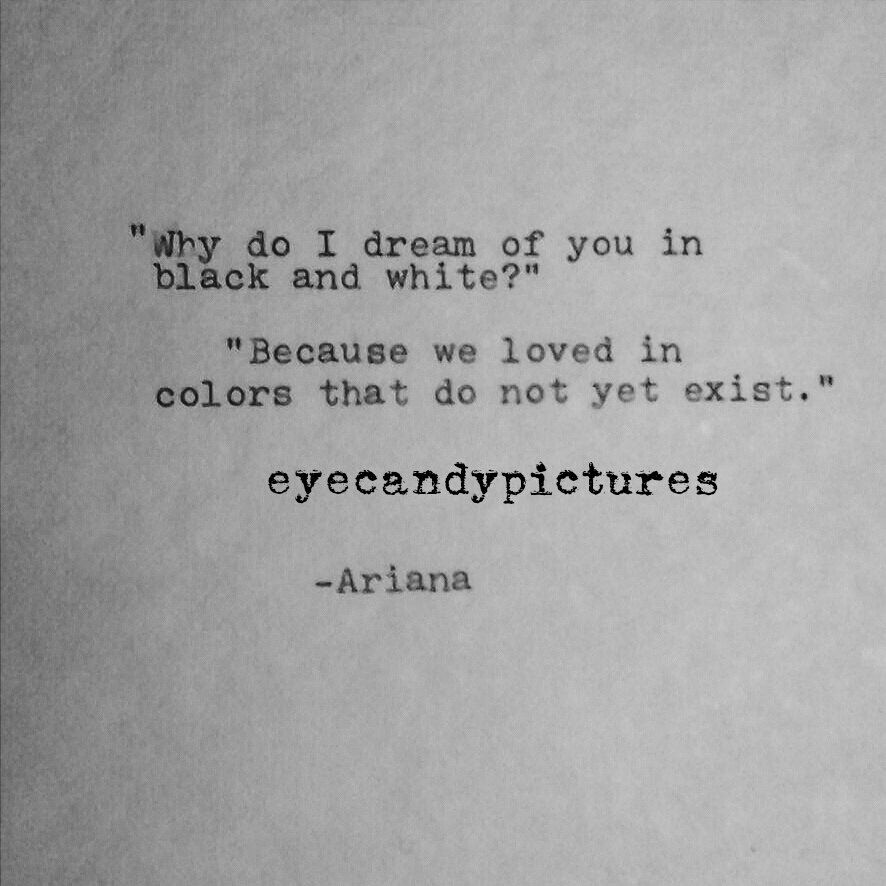 Poetry Original Poem Love Letter Typewritten Poem Typography