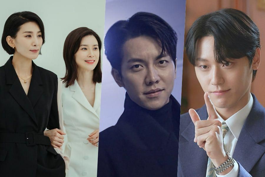 """""""Mine,"""" """"Mouse,"""" Lee Seung Gi, And Lee Do Hyun Top Most Buzzworthy Drama And Actor Lists"""