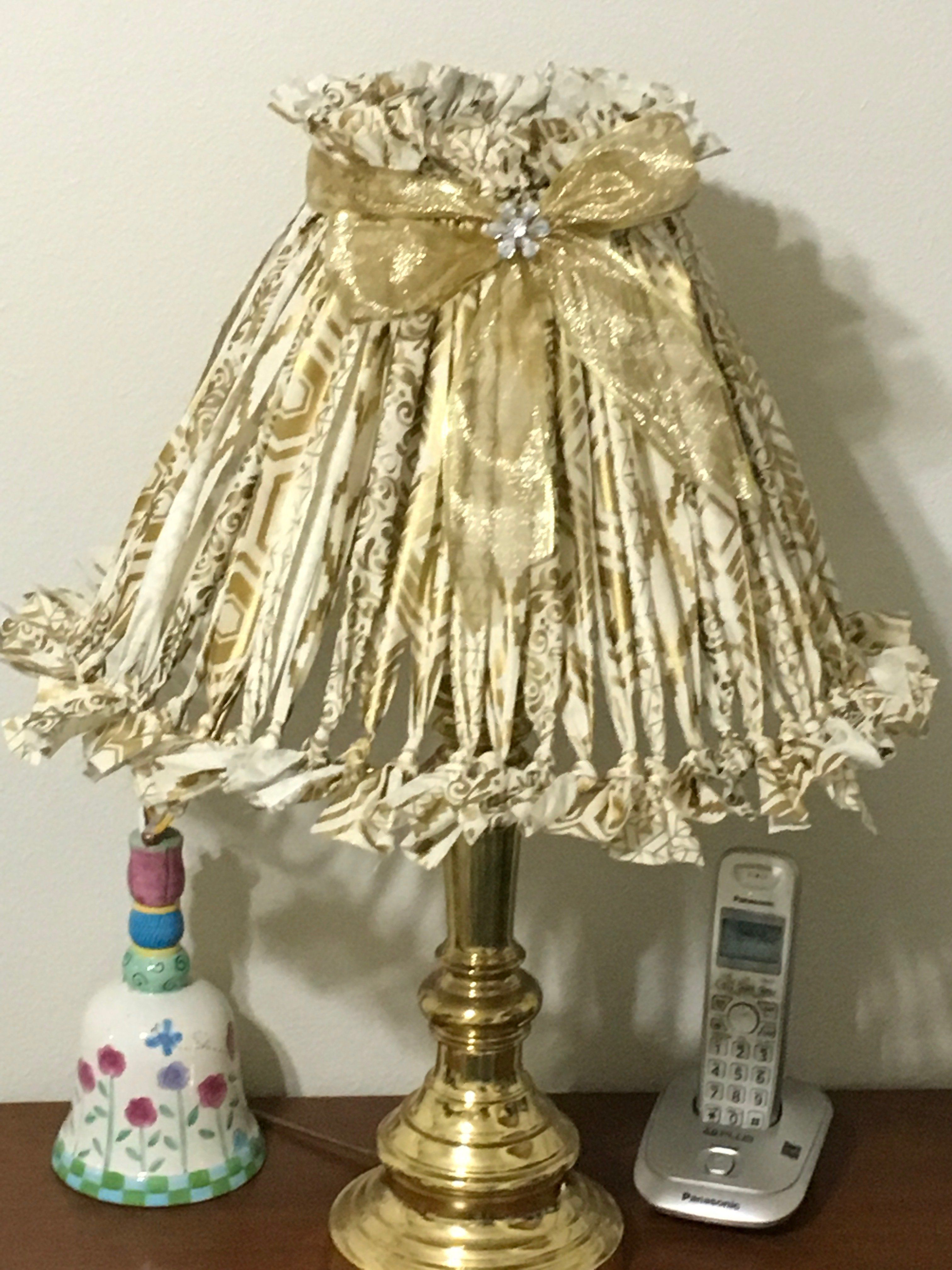 Gold Colored Metal Strawberry Lamp Shade Finial