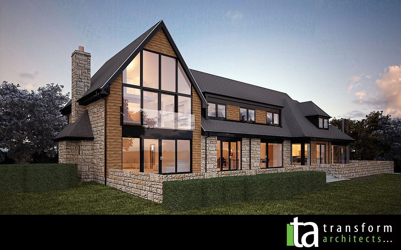 From Tired To Contemporary House Exterior Architect House Bungalow House Design