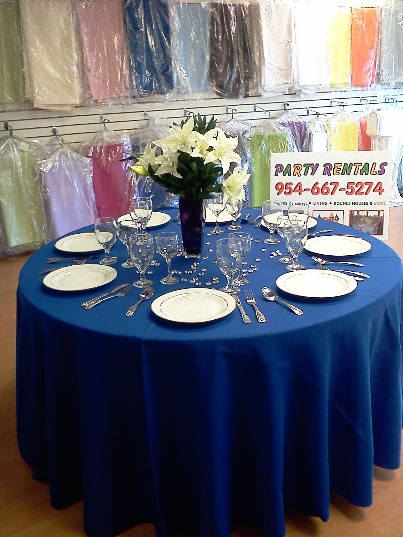 Wedding decorations with royal blue  Royal Blue Wedding Decorations  White Fuchsia Royal Blue Lavender