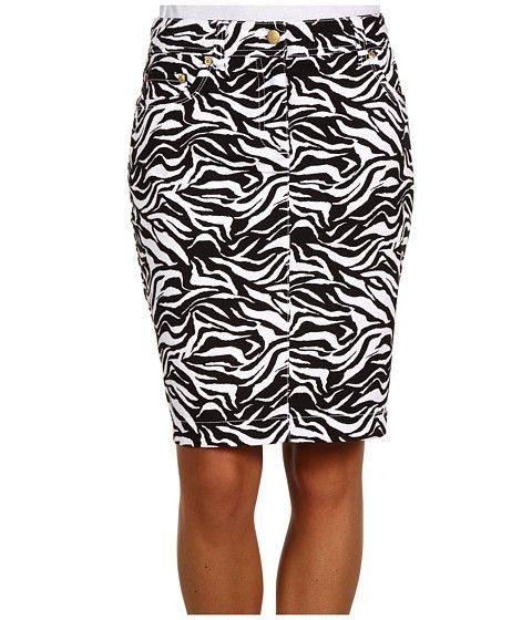 Jones New York Sport Slim Skirt w/ Jean Detail