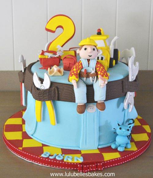 Birthday Cakes For Boys With Images Bob The Builder Cake Boy