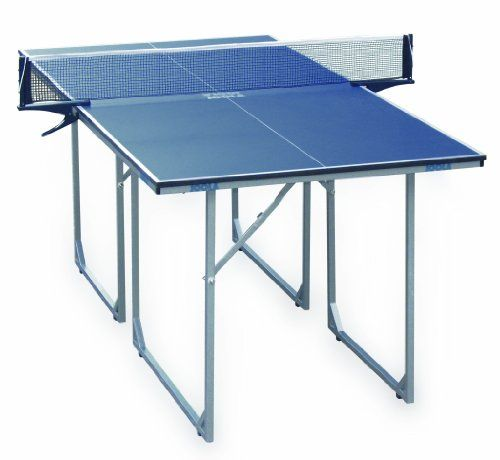 Midsize Table Tennis Table With Dimensions 182x91x76cm Fun To Play For All Ages Http Www Amazon Com Ping Pong Table Table Tennis Game Table Tennis