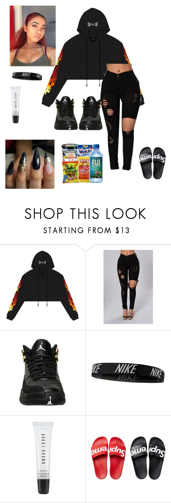 """""""Flying Saucer 🚀"""" by liloandjayy ❤ liked on Polyvore featuring NIKE and Bobbi Brown Cosmetics"""