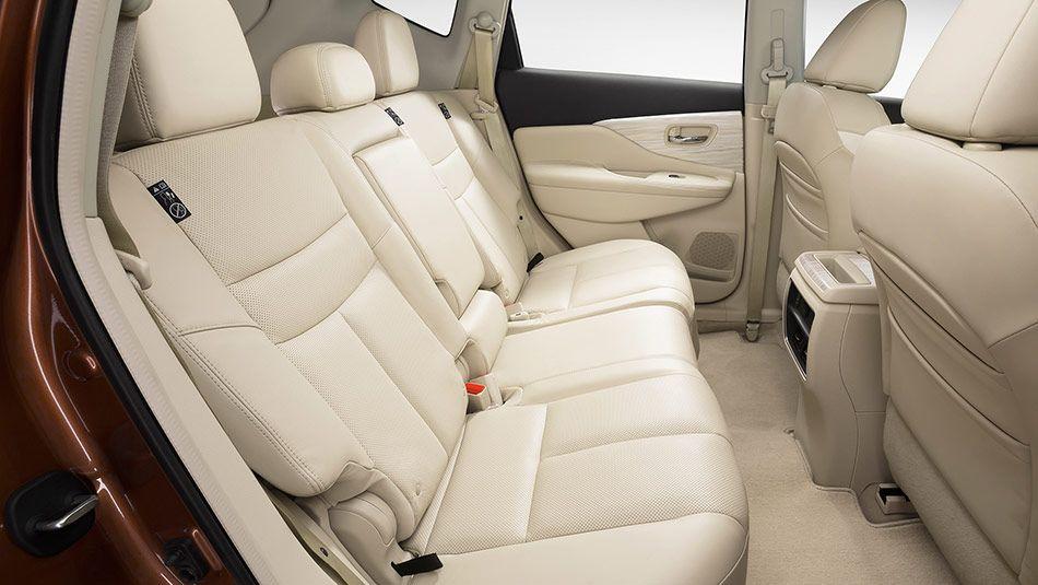2015 Nissan Murano Interior Legroom In Cashmere Leather Nissan Murano Nissan Nissan Murano 2017