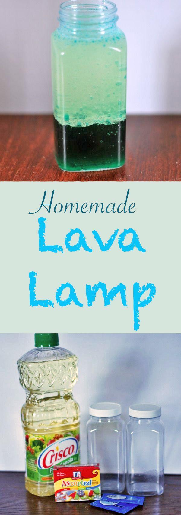 DIY Homemade Lava Lamp Homemade lava lamp, Rainy day