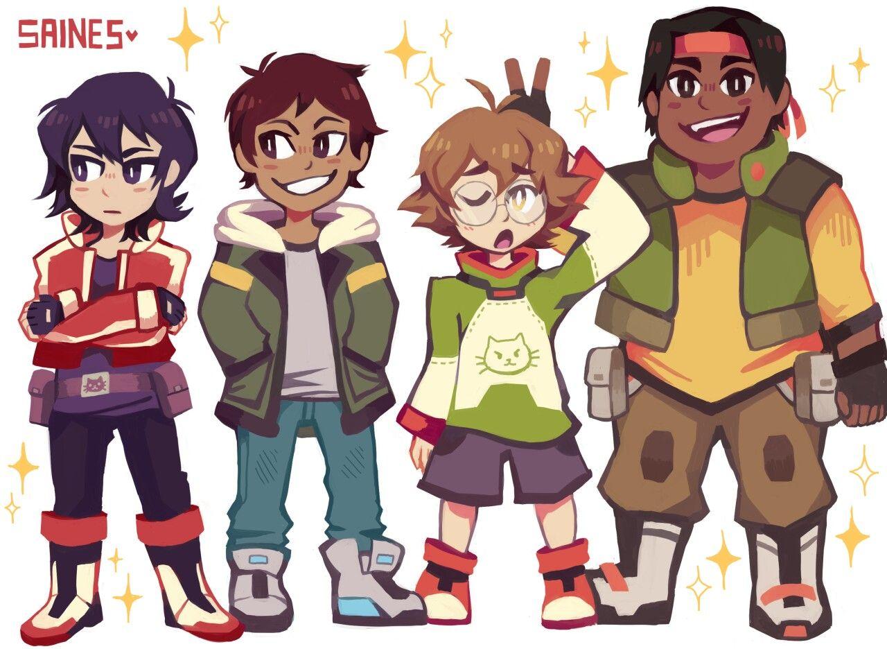 Keith, Lance, Pidge, And Hunk