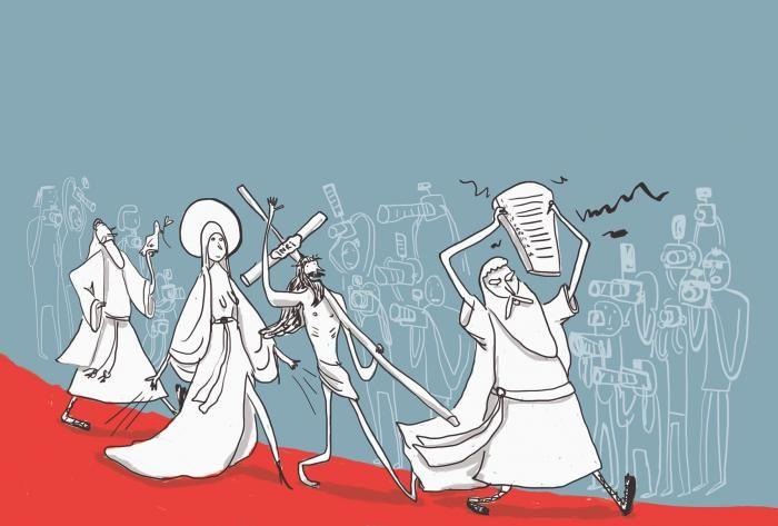 Hollywoods nye guldæg: Kristendom   Information