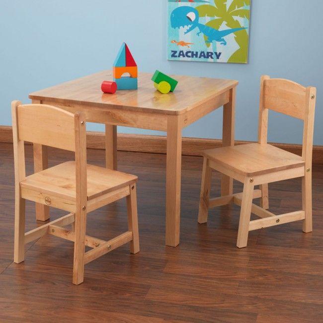 Nature KidKraft Kindertisch Stuhl Kombination Aspen Aus