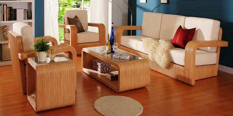 Beautiful Wooden Sofa Set Sofa Sofaideas Furniture Furniture Design Furnituretrends Sectiona Wooden Sofa Designs Wooden Sofa Set Designs Wooden Sofa Set
