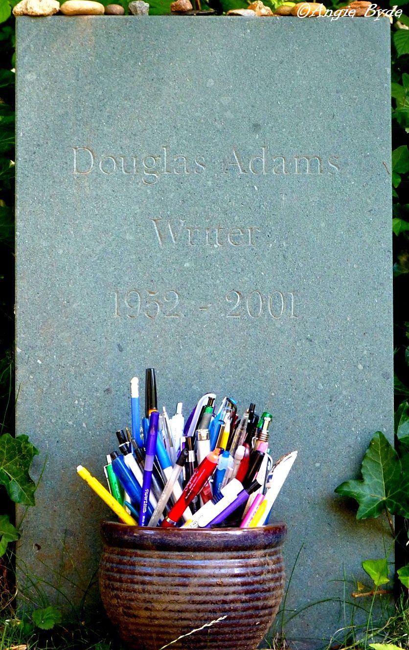 Douglas Adams, Writer. Highgate Cemetery, London