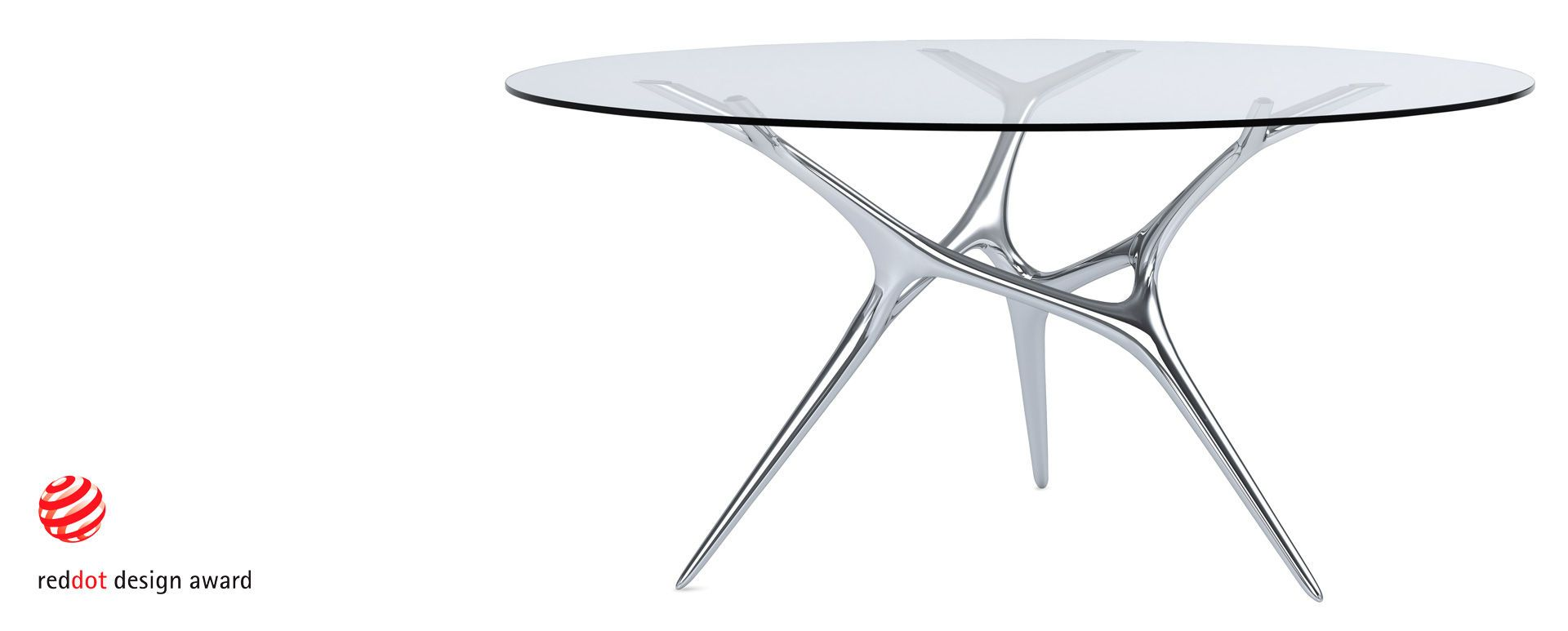 The design of the E-volved table, by the German designer Timothy ...