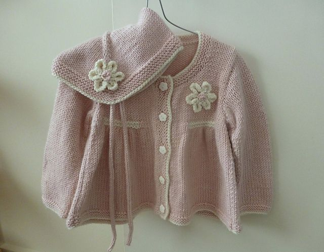 Ravelry: Project Gallery for Design D - Girl\'s Long & Short Sleeved ...
