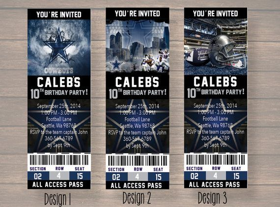 Dallas cowboy dallas cowboy birthday invitation by onthegoprints dallas cowboy dallas cowboy birthday invitation by onthegoprints filmwisefo