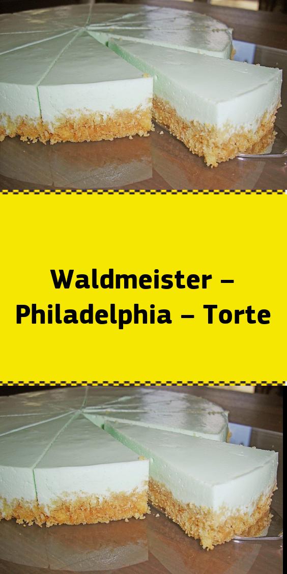 Waldmeister – Philadelphia – Torte #löffelbiskuitrezept