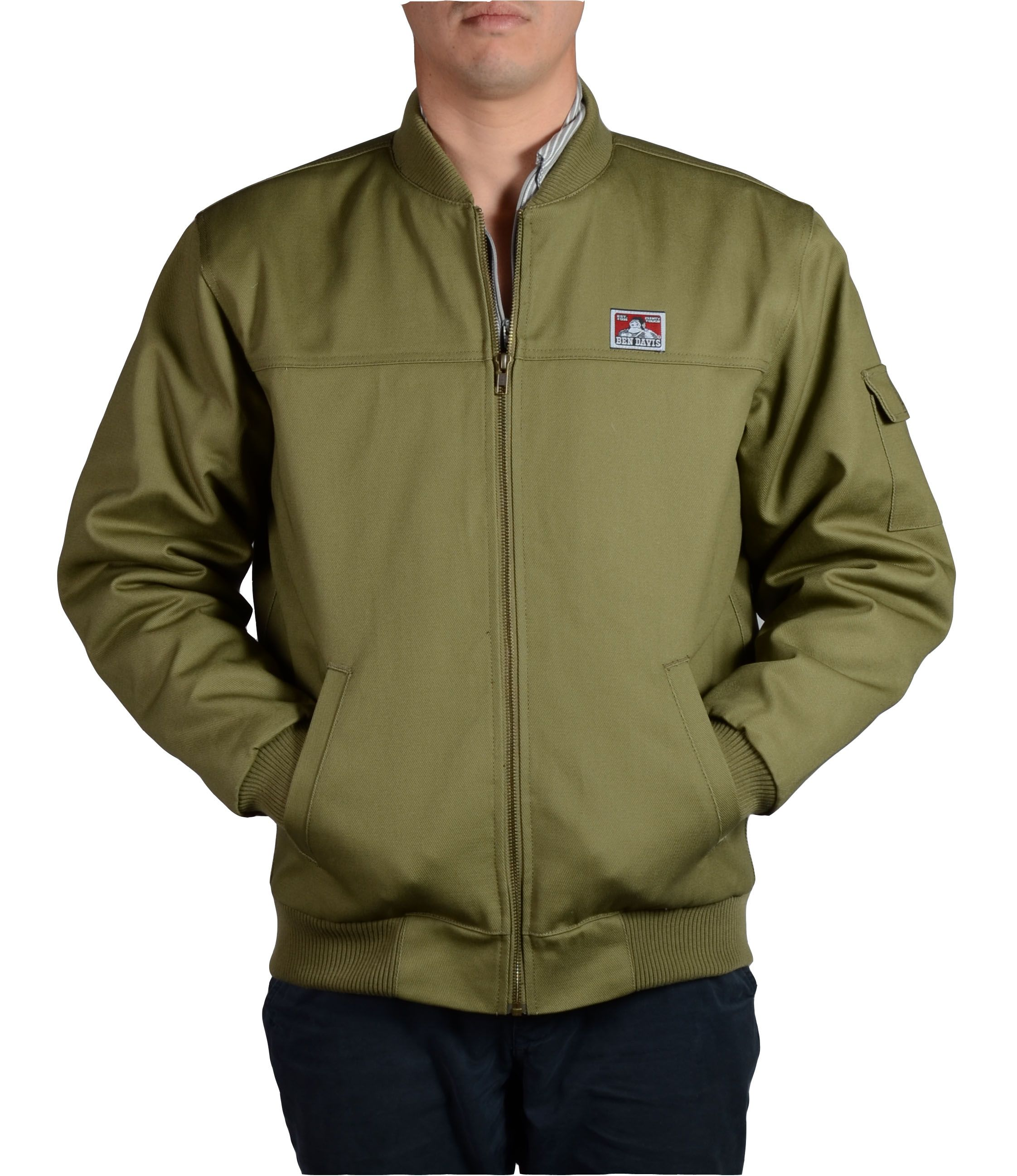 319.jpg (2244×2596) Quilted bomber jacket, Army green