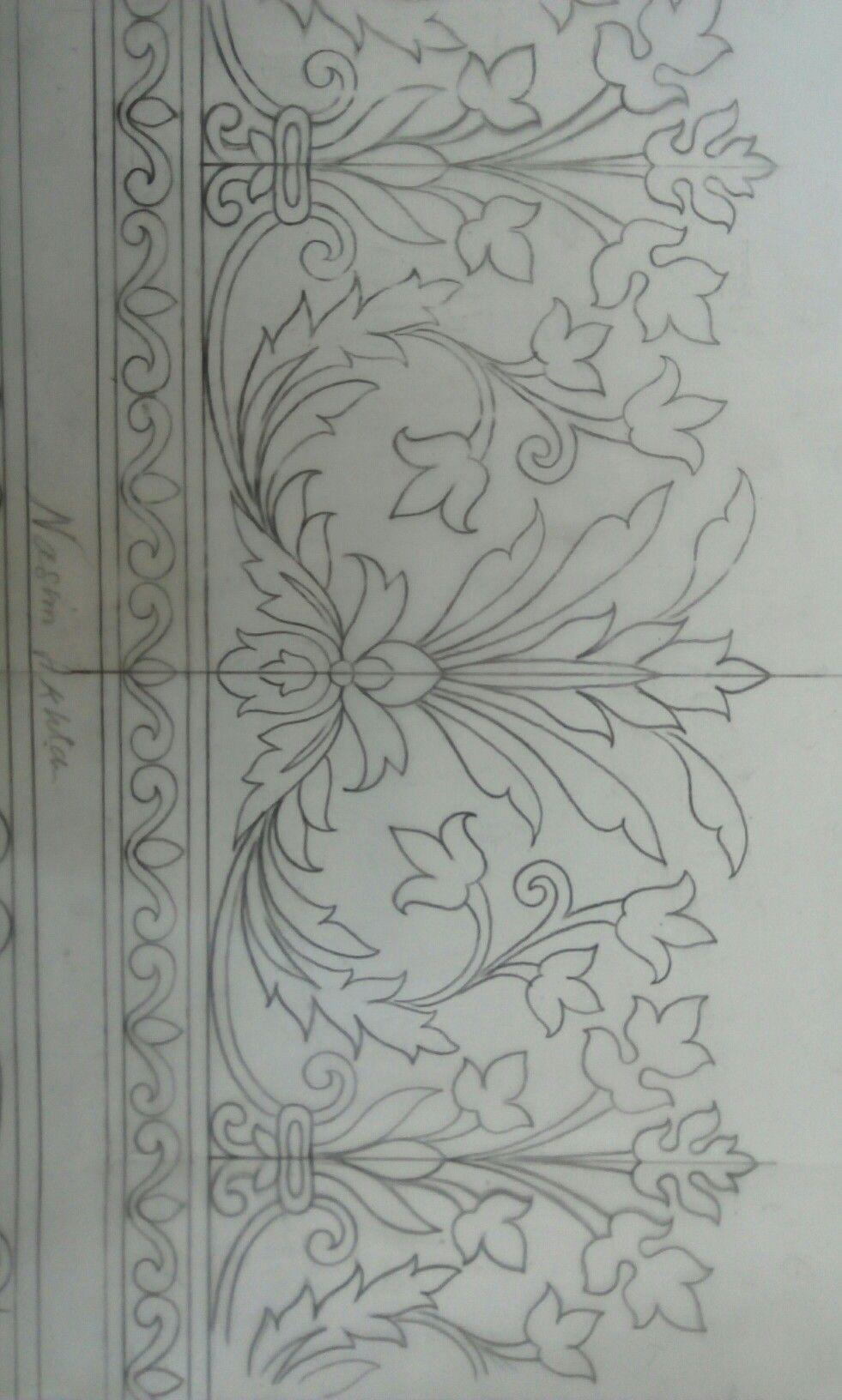 floral pattern Rock Haritaki