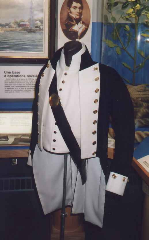 Royal Navy Lieutenant's Uniform, 1800-1811 More