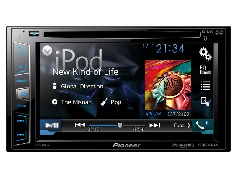 Pioneer Avh X2700bs Factory Refurbished Touch Screen Car Stereo Pioneer Car Audio Hd Radio