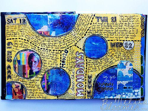 Melita Bloomer - Junque Journal A500