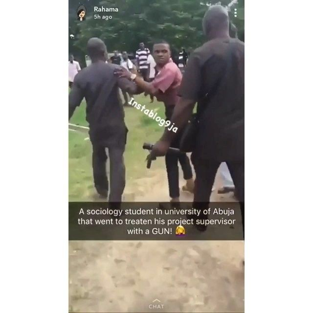 The Department Of Sociology At The University Of Abuja Was In Chaos Yesterday 11th September 2018 As A Final Year