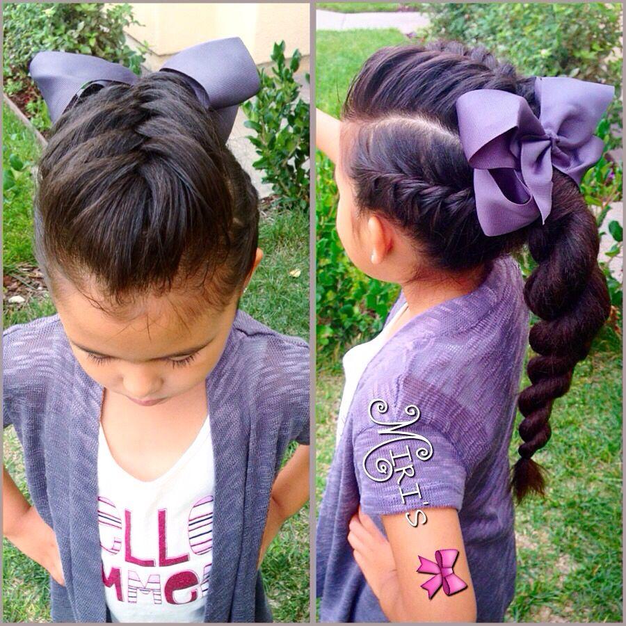hairstyle little girls hair