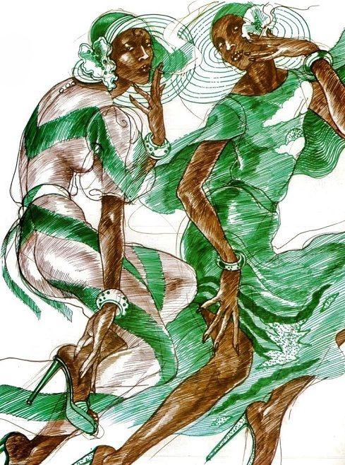 Antonio Lopez Fashion Illustrations Ilustraciones De Moda