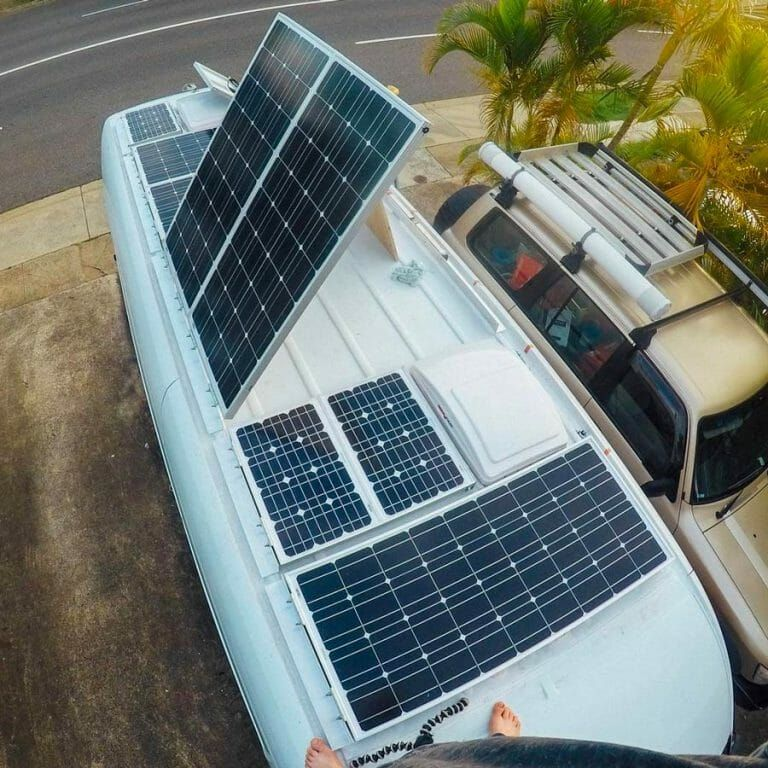 Best Solar Panels For RV or Camper Van (With images