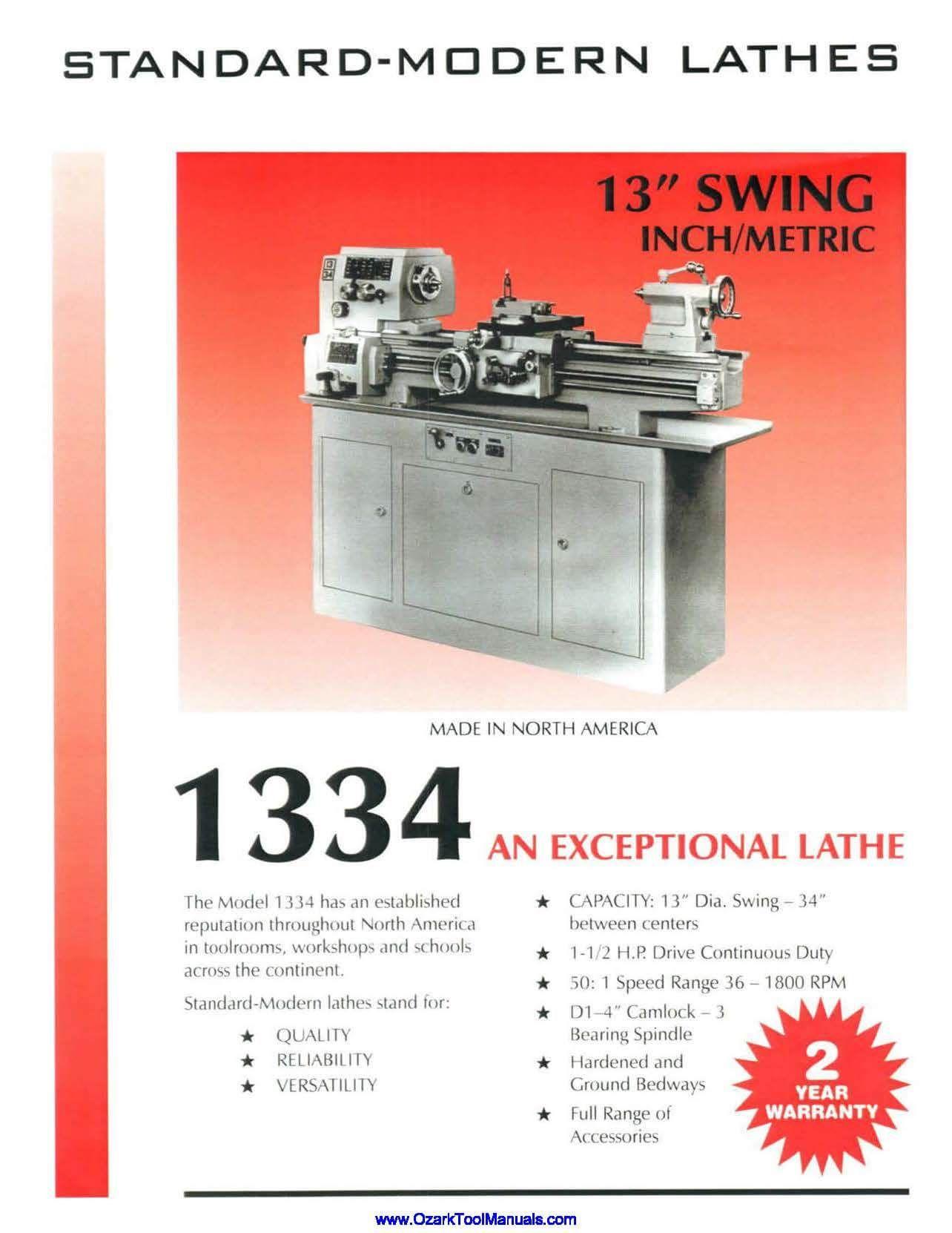 New Free Pdf Downloads Of Machinery Tool Catalogs Bulletins Ozark Tool Manuals Books Ozark Woodworking Machinery Machinery