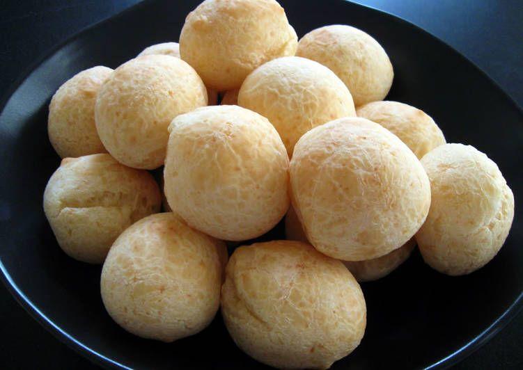 Pao De Queijo Brazilian Cheese Bread Recipe With Images