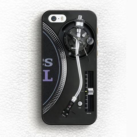 Retro Technics Turntables DJ Desgin Soft TPU Skin Mobile Phone Cases For iPhone 6 6S Plus 5 5S 5C SE 4 4S Back Shell Case Cover