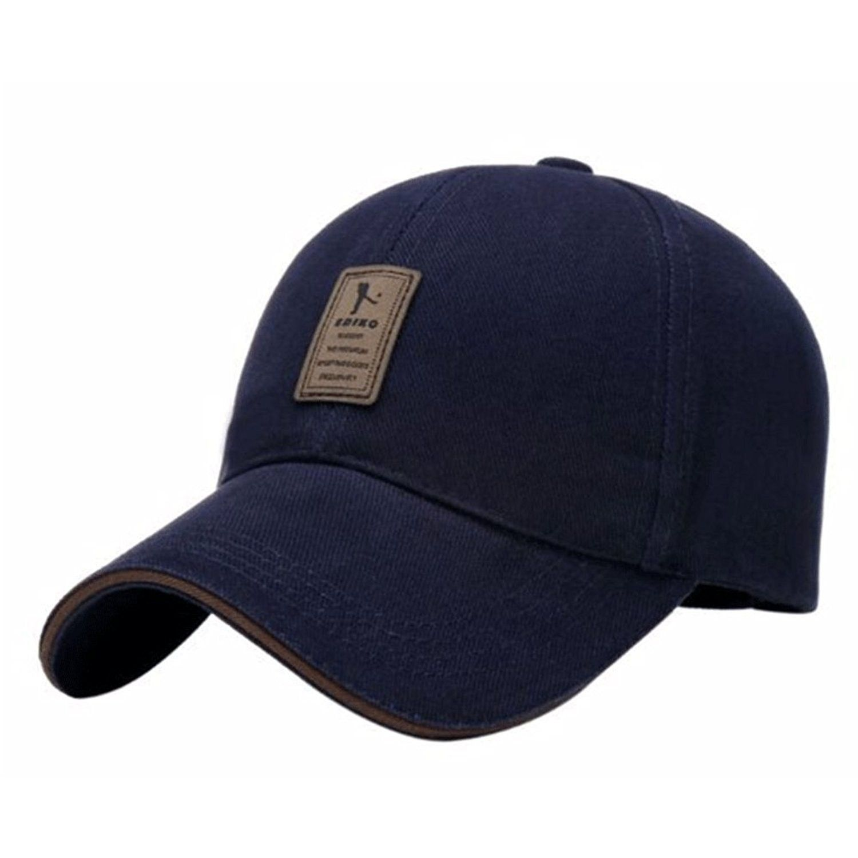 Cotton Hats Twill Low Solid Profile Plain Adjustable Baseball Caps - A-dark  Blue - CK12MYBJTUA - Hats   Caps 94e081b81e46