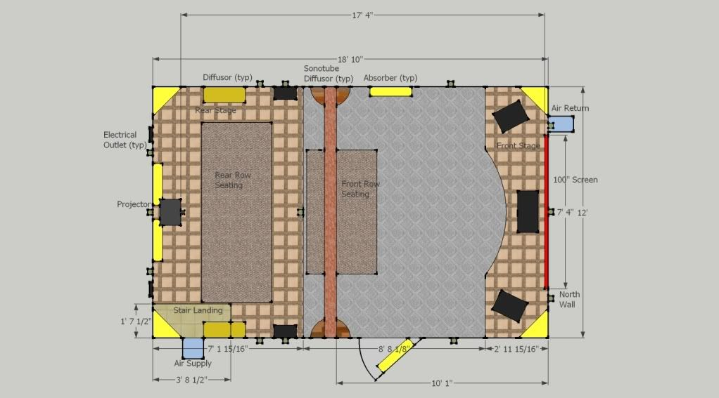 Home Theater Design Layouts Lurker Emerges Theatre Design