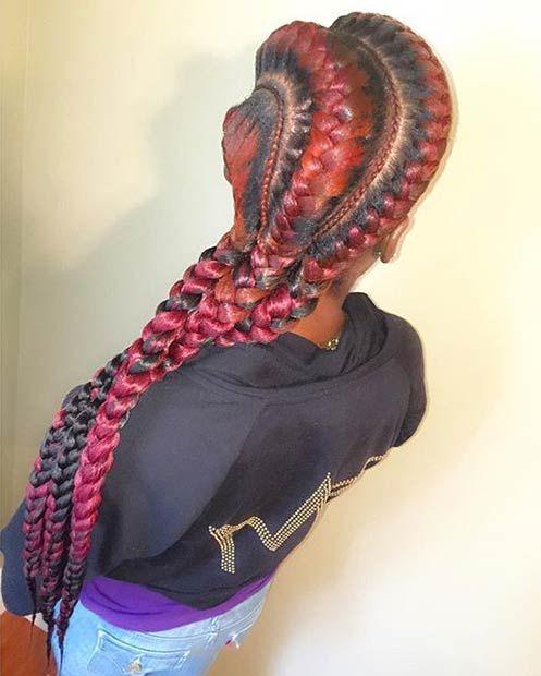 31 Goddess Braids Hairstyles for Black Women | Goddess ...